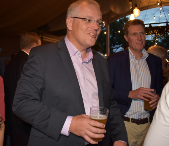 PM's pints before Perth promises