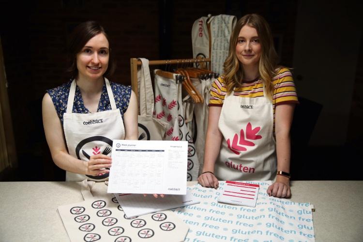 Hanako Frawley (Hamersley) and Rhiannon Davies (Hamersley) from Coelihack. Photo: Martin Kennealey