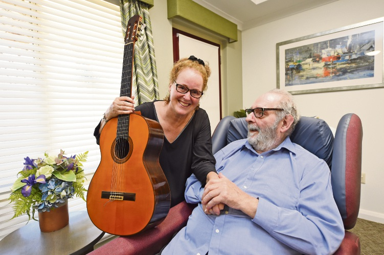 Classical guitarist makes difference at Bethanie Peel