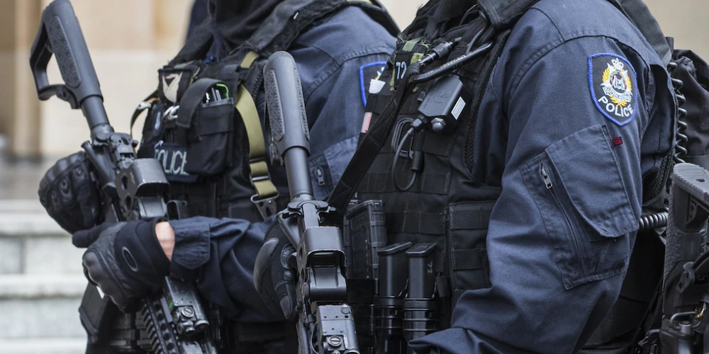 Members of the WA Police Tactical Response Team. Picture: File image