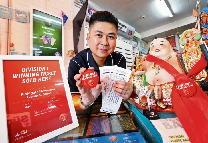 Tommy (Nhan) Ma (Owner, Fieldgate News and General Store). Picture: David Baylis www.communitypix.com.au d491634