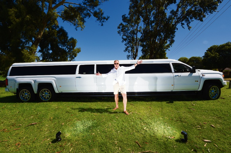 Perth's biggest limo ready to roll