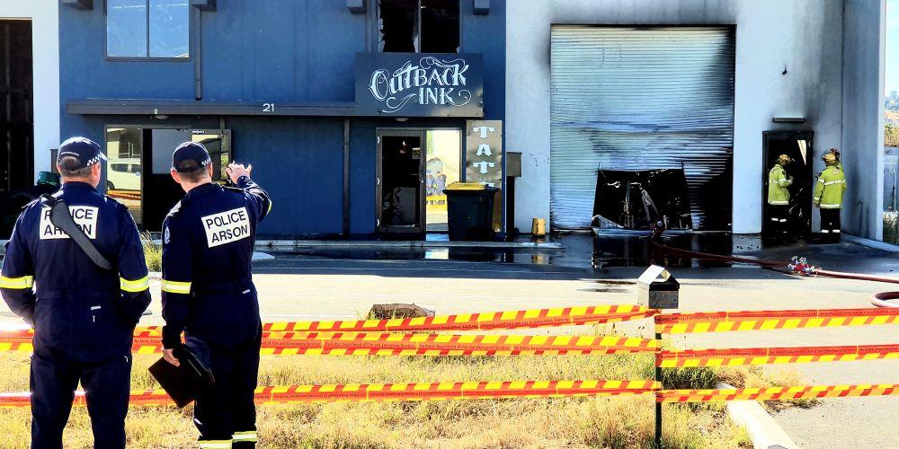 The scene in Bullsbrook this morning. Photo: David Baylis