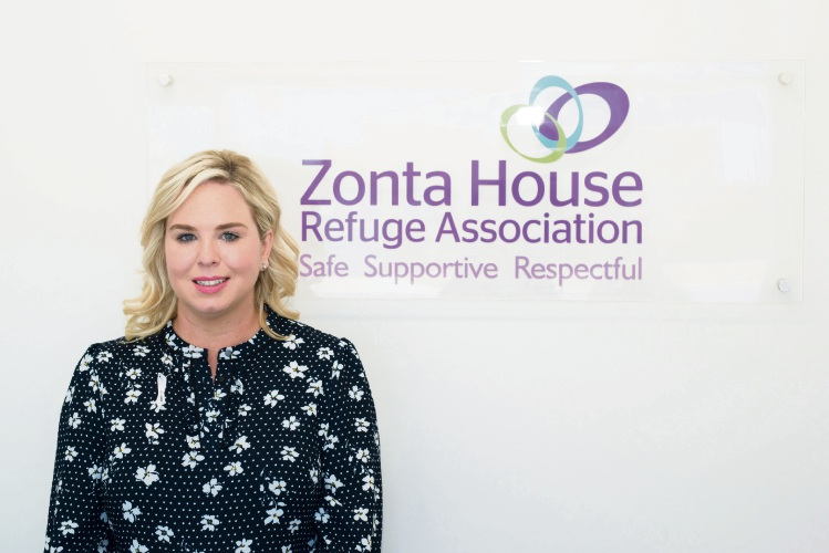 Zonta House chief executive Kelda Oppermann has been nominated for a Telstra Business Women's Award. Photo: Bella Moments Photography.