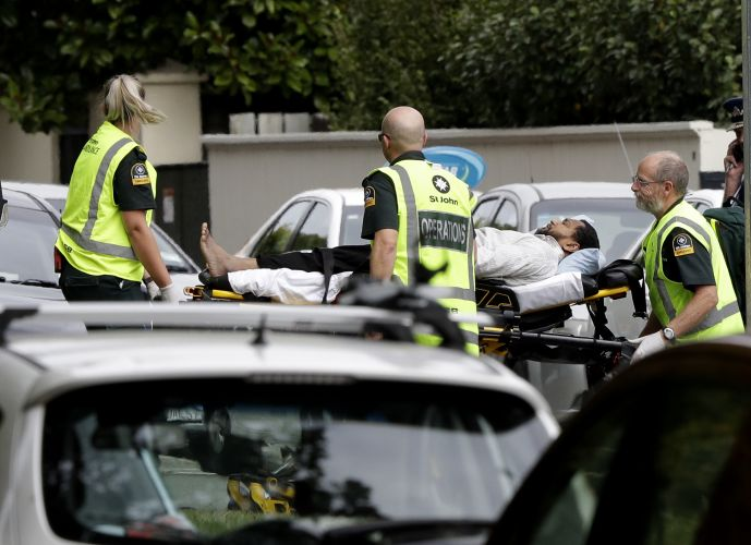 2 mosque shootings reported in New Zealand