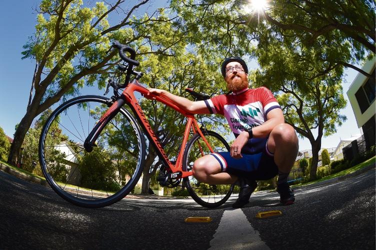Applecross resident Matt Gibbs Picture: Jon Hewson