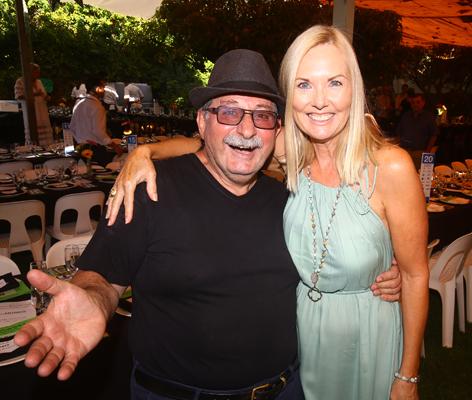 Vince Garreffa and Lyn Anderson