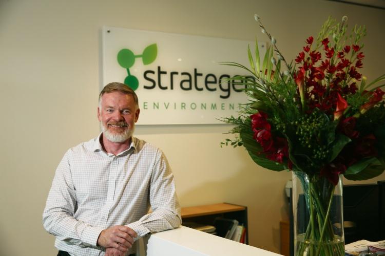 New Strategen-JBS&G executive director Darren Walsh Picture: Andrew Ritchie www.communitypix.com.au   d491367