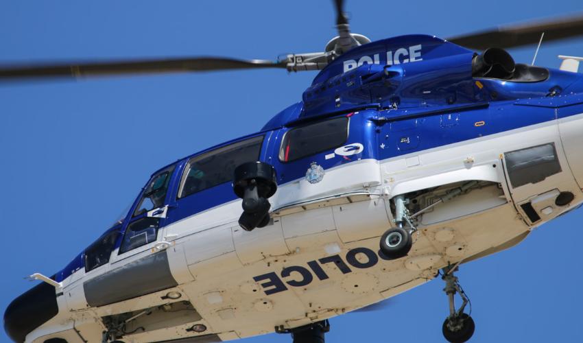 Police plane deployed in hunt for missing man