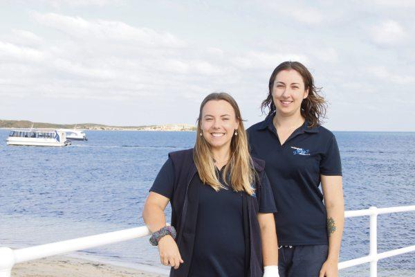 Trini Reynolds of Swanbourne and Tazia Lemon of Shoalwater.