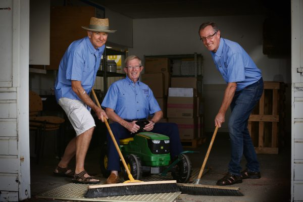 New men's shed sweeps into Claremont Showground