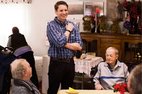 Canning MHR Andrew Hastie announces two new aged care homes in Mandurah