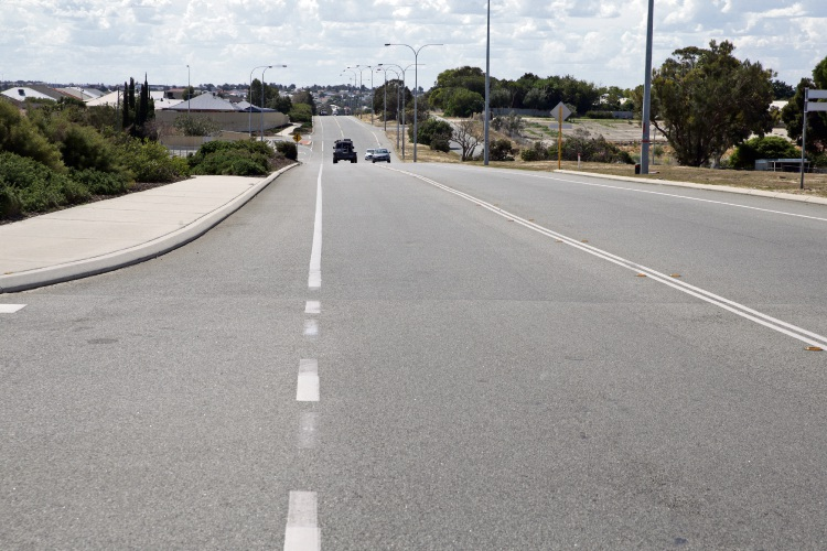 Widening Pinjar Road is one of the projects funded through the developer contributions. Picture: Martin Kennealey