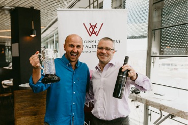 Xanadu head winemaker Glenn Goodall with Rathbone Wine Group chief executive Darren Rathbone