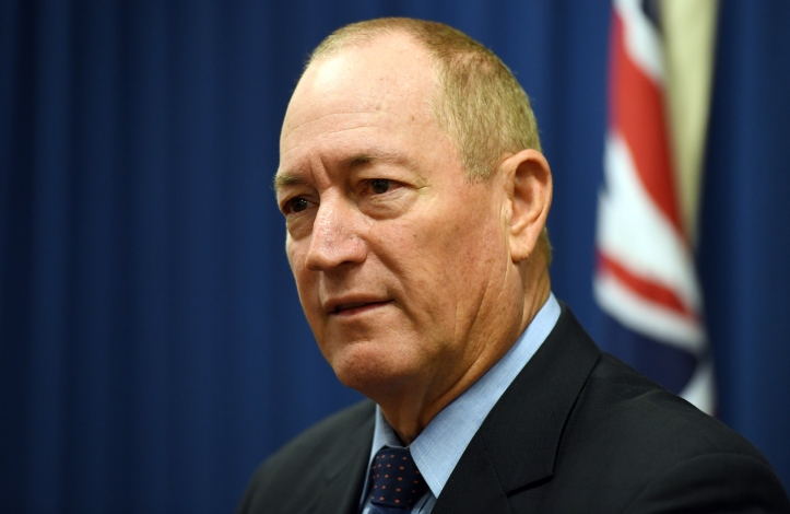 Senator Fraser Anning. Photo: AAP
