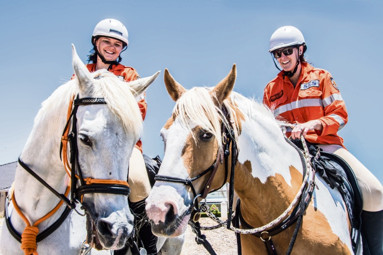 SES Mounted Section call for volunteers to search for missing people