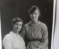 Nellie Fawdrey Tant with her daughter. Picture: Bayswater Historical Society