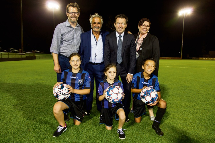 Soccer: Floodlights to help Bayswater City host night finals