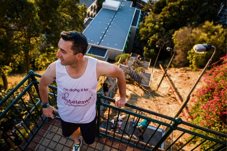 Como resident successfully did 200 laps of Jacob's Ladder