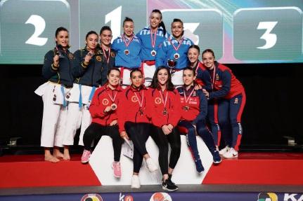 Karate: Ronin Mamisde Karate trio wins third-straight international medal