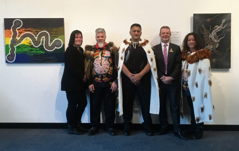 Taressa Schurmann, Morehu Heta-Tohu, James Tioro, David Schumacher and Jo Matthews are organising a ceremonial service in Mandurah on Thursday.