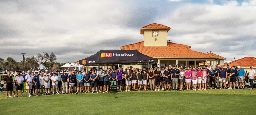 Participants in the Peel Thunder Football Club Golf Day. Photos by Shazza J Photography.