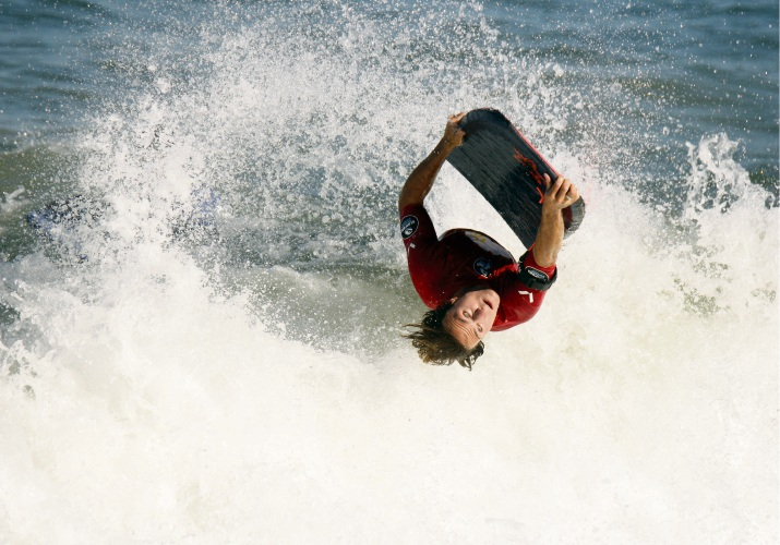 Falcon bodyboarder George Humphreys won the Ope Men's division. Photos by Surfing WA/Majeks.