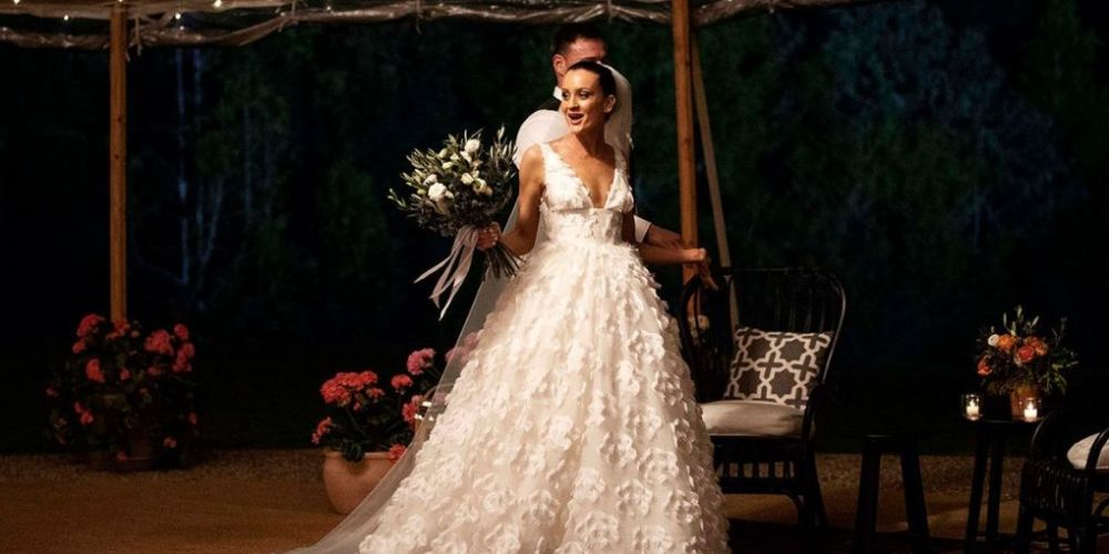 Married at First Sight bride Ines Basic. Pic: Nine