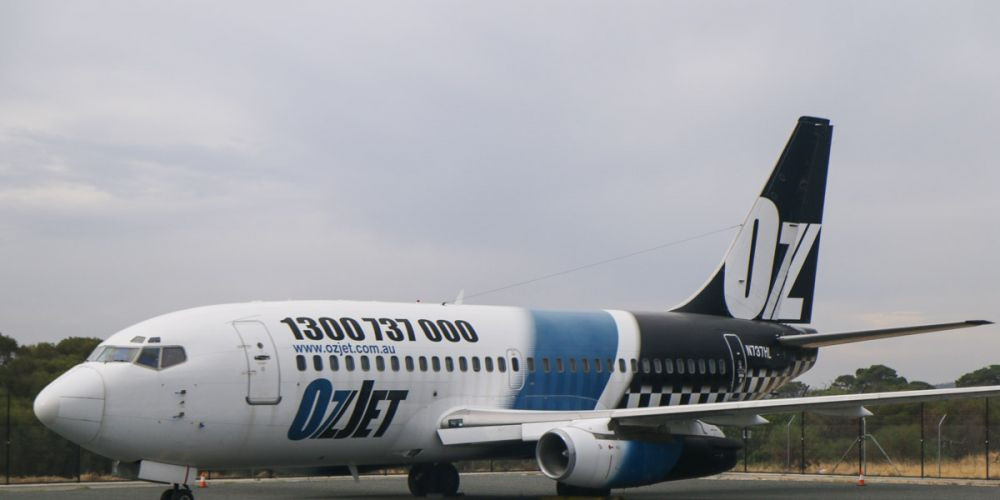 Plane sailing: Boeing 737 makes journey to York from Perth Airport