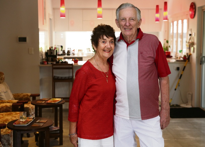 Janet and Rod Dedman celebrate their 60th anniversary on March 30. Picture: Martin Kennealey d491841