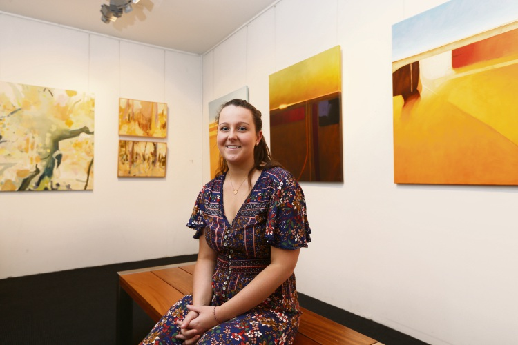 Claremont resident Olivia Lowson showcasing art to raise funds for Asthma WA