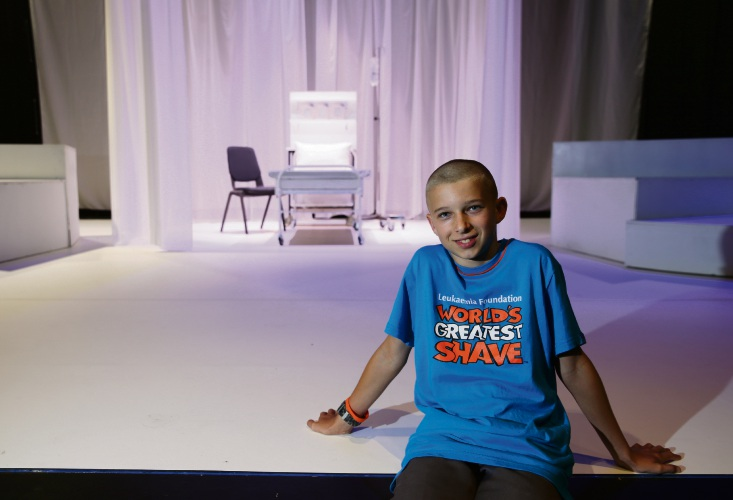 Churchlands: Acting role inspires Newman College student to shave hair for leukaemia