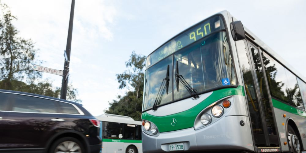 The 950 bus route will be altered.