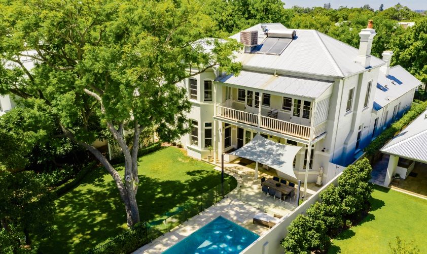 This Claremont home sold for $4 million at auction, highlighting improving confidence in the premium property market.