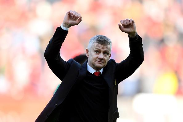 Manchester United Manager Ole Gunnar Solskjaer. Photo: Getty