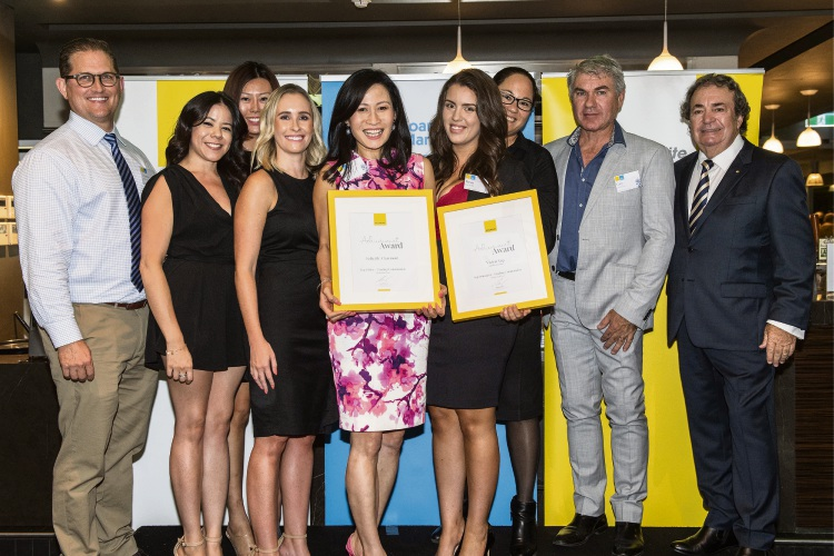 Dalkeith-Claremont team successful at Ray White awards