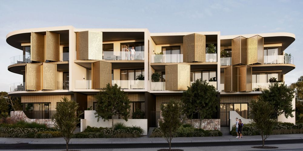 An artist impression of the recently approved One Iluka Beach apartment project.