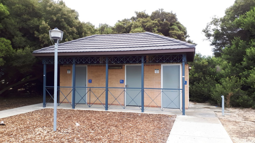 Toilets at the Rosslare Foreshore in Mindarie have been fitted with time locks.