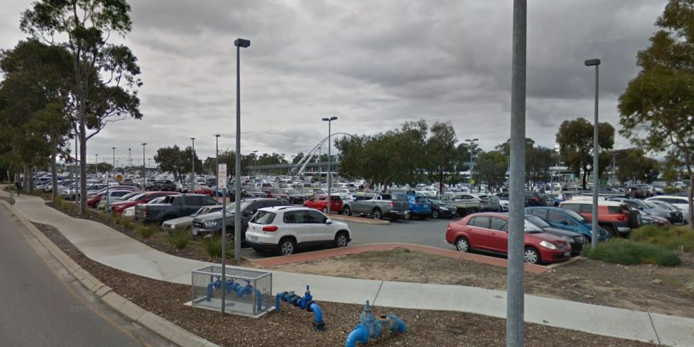 Mandurah Train Station carpark. Google Maps.