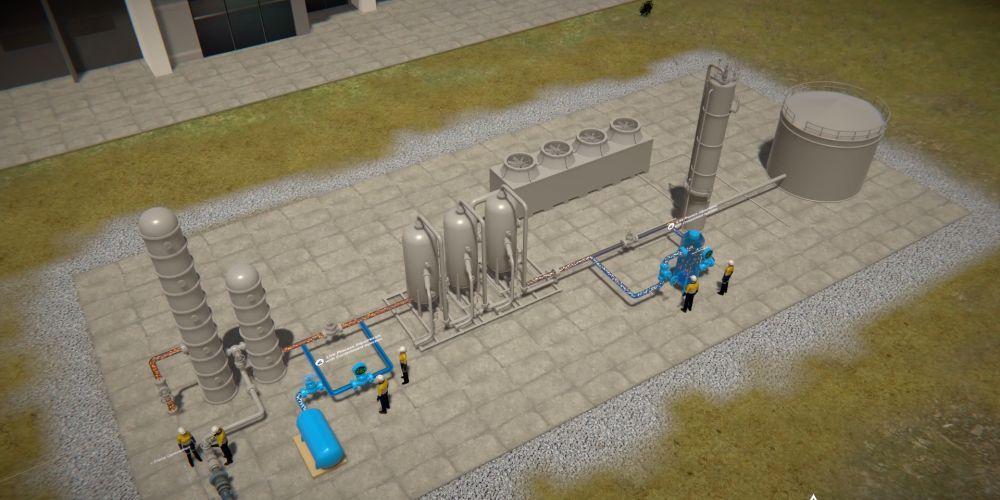 WA bid to build world-first microscale LNG plant
