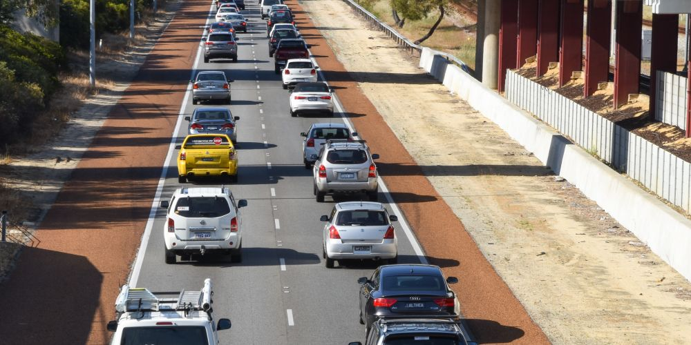 The Federal budget included $50 million towards the widening of the Mitchell and Kwinana freeways.