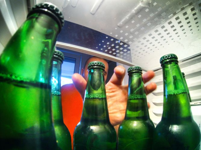 Should you leave your beer in the fridge when you leave a party?