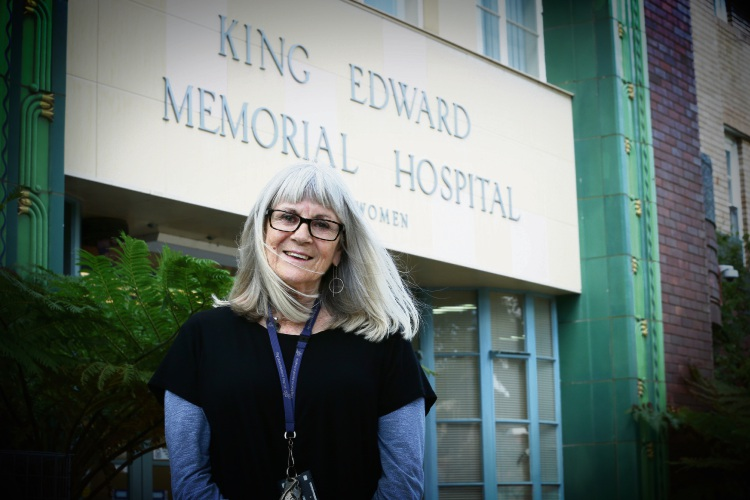 Linda Watson (Research Asst WA Register of Developmental Anomalies - Cerebral Palsy based at KEMH). Picture: Andrew Ritchie.