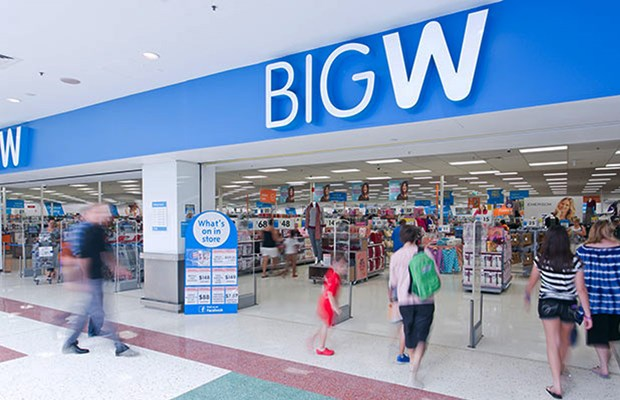 Up to 30 Big W's are facing closure nationwide.