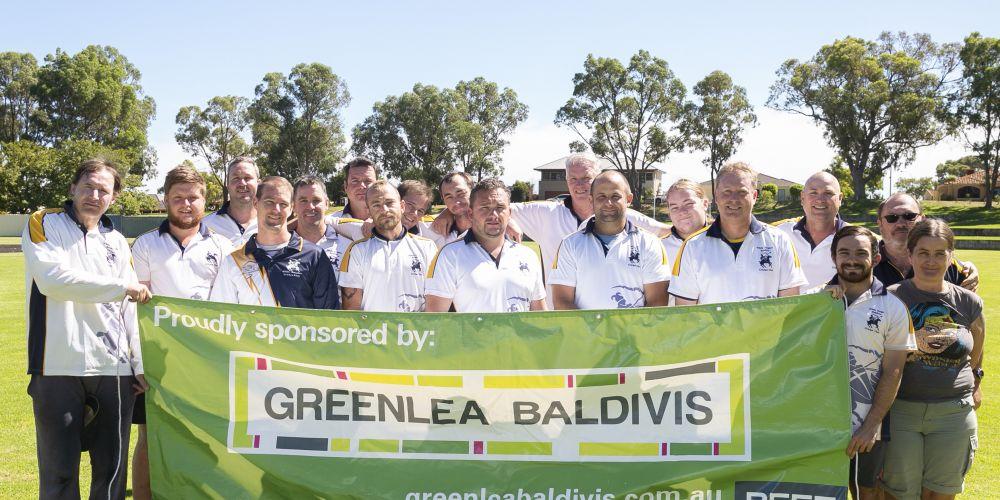 Baldivis White Knights Cricket Club members.