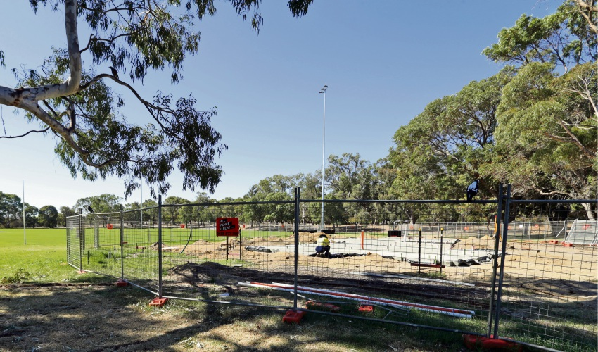 A $1.65 building at Edgar Griffiths Park will include change rooms and public toilets. d492304