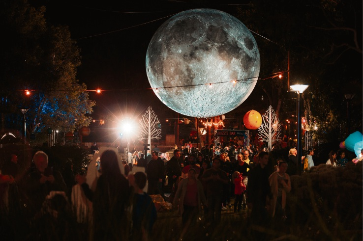 Joondalup Festival explores the galaxy. Pictures: Marc Ash