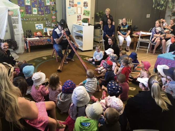 Mindarie yarning circle brings Aboriginal culture to early learning