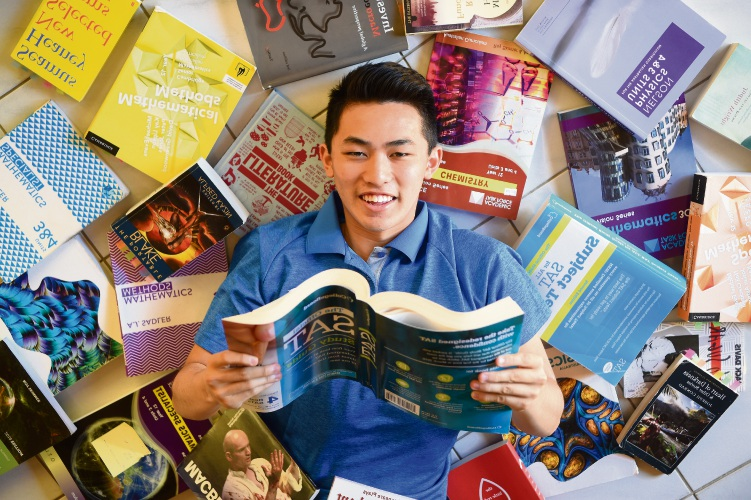d492340 Murdoch resident Rupert Kang has been accepted to the Wharton School at the University of Pennsylvania. Picture: Jon Hewson