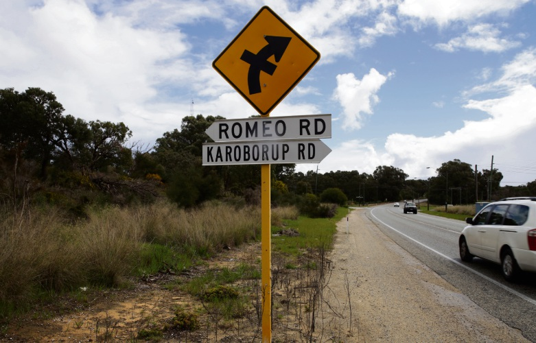 Wanneroo Road in Nowergup.